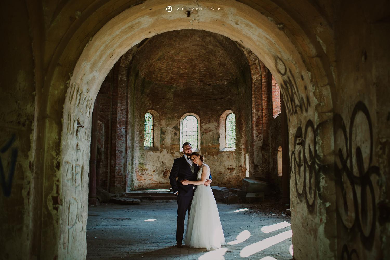 Sesja ślubna w Pisarzowicach